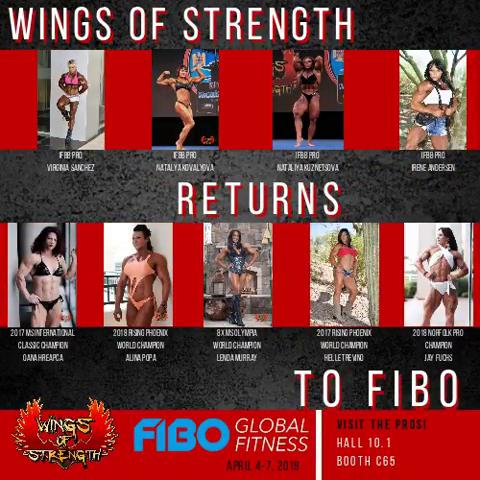Meet me at the FIBO 2019